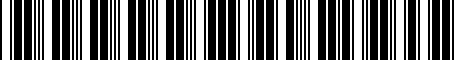 Barcode for 000071501A